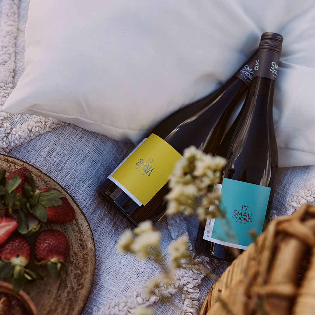 Vegan wines made in South Australia Small Victories Wine Co