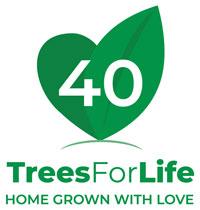 Trees For Life logo charity partner